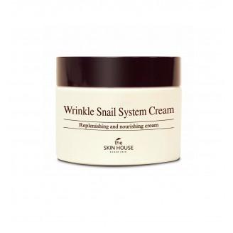 Улиточный крем The Skin House Wrinkle Snail System Cream 50мл
