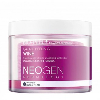 Трёхслойные пилинговые диски с экстрактом красного вина Neogen Dermalogy Bio Peel Gauze Peeling - Wine