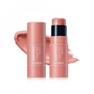 Румяна кремовые Saemmul Cream Stick Blusher PK01 Pink Flame