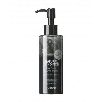 Гидрофильное масло для умывания и снятия макияжа The Saem Natural Condition Pore Deep Cleansing Oil 150мл