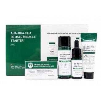 Набор для проблемной кожи с кислотами AHA-BHA-PHA 30 Days Miracle Starter Edition