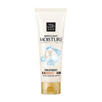 Увлажняющая маска для волос с гиалуроновой кислотой Pearl Smooth Silky Moisture Treatment 180мл
