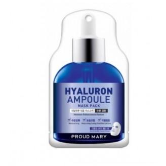Ампульная маска с гиалуроновой кислотой Hyaluron Ampoule Mask Pack от Proud Mary (25 гр)
