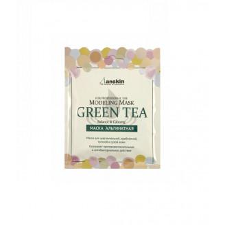 Успокаивающая альгинатная маска с экстрактом зелёного чая 25гр