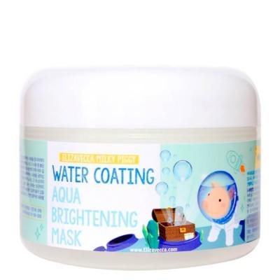 Ночная маска для сияния кожи лица Water Coating Aqua Brightening Mask 100мл