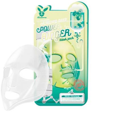 Стимулирующая тканевая маска для лица с экстрактом центеллы азиатской