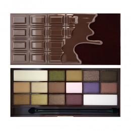 Тени для век  I Heart Revolution Eyeshadow Palette I ♡ Chocolate