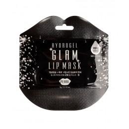 Гидрогелевая маска для губ с экстрактом жемчуга Hydrogel Glam Lip Mask - Pearl
