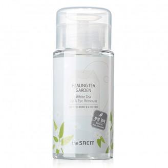 Жидкость для снятия макияжа с глаз и губ Healing Tea Garden White Tea Lip&eyes Remover 150мл