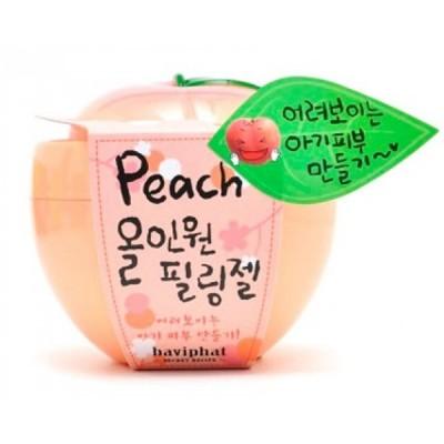 Персиковая пилинг-скатка для отшелушивания омертвевших клеток кожи