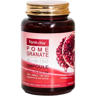 Farmstay All-In-One Pomegranate Ampoule Сыворотка для лица с экстрактом граната