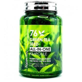 Многофункциональная сыворотка для лица с экстрактом семян зеленого чая 76 Green Tea Seed All-In-One Ampoule 250мл