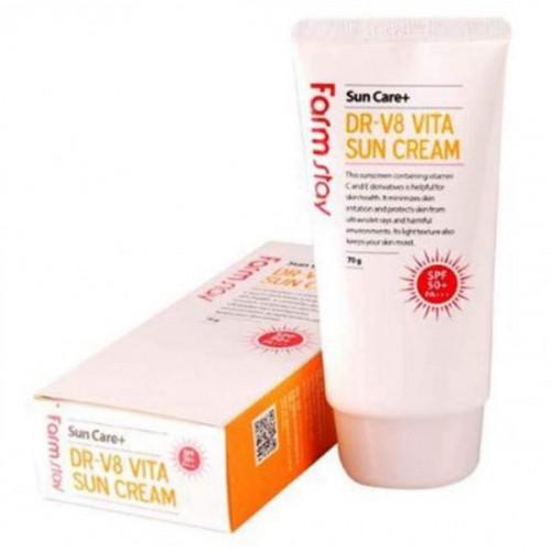 Витаминизированный солнцезащитный крем DR-V8 VITA SPF 50/PA+++