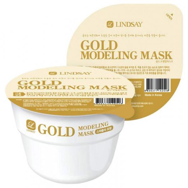 Маска для лица альгинатная моделирующая с коллоидным золотом