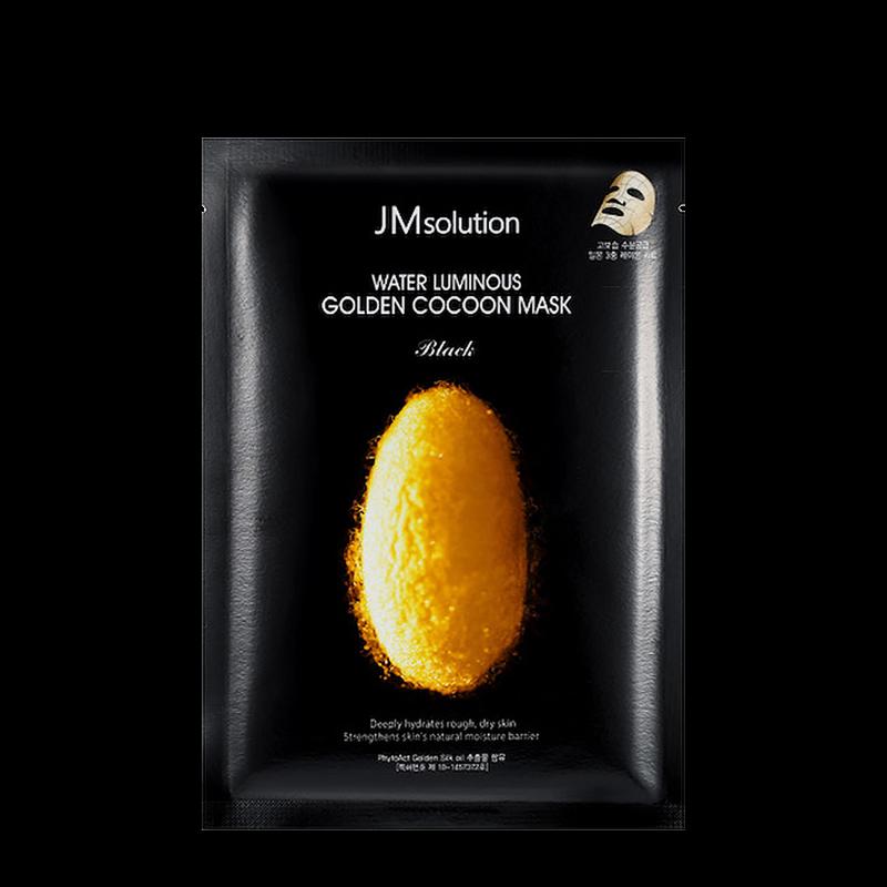 Тканевая маска с протеинами кокона золотого шелкопряда Water Luminous Golden Cocoon Mask